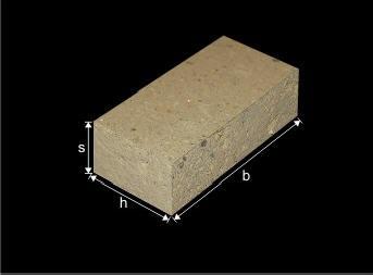 Dimensioni blocchi di tufo